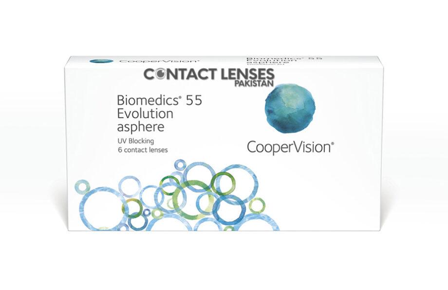 Biomedics 55 contact lenses