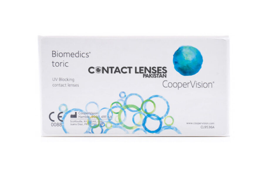 Biomedics Toric Contact Lenses price in pakistan