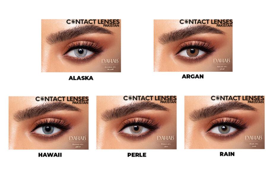 Dahab Platinum Contact Lenses price in pakistan